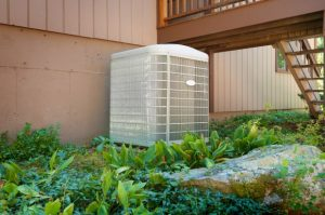 a home's air conditioner