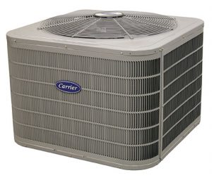 a Carrier air conditioning unit