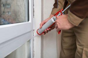 sealing a window pane